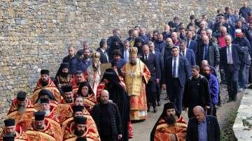 Радев: Зографският манастир отстоява българската вяра, духовност, памет и език