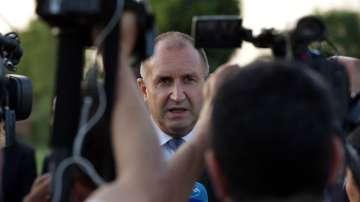 Румен Радев: Проблемите в България изискват силно лидерство