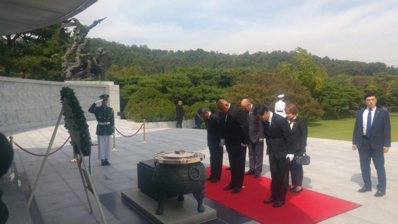 снимка 3 Първи ден от посещението на премиера Бойко Борисов в Южна Корея
