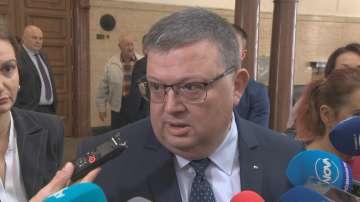 Сотир Цацаров е категоричен в подкрепата си Гешев