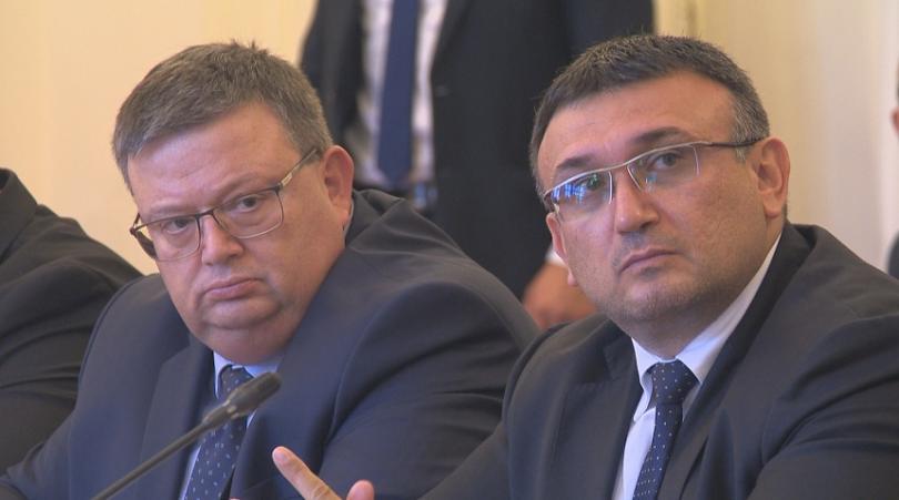 Главният прокурор Сотир Цацаров определи новия вътрешен министър Младен Маринов