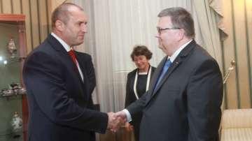 Президентът се срещна с главния прокурор