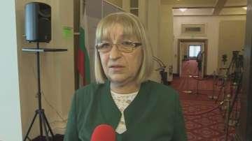 Цецка Цачева: Управляващите разполагат с достатъчно гласове