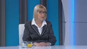 Цецка Цачева за КСНС: Имаше дебат, не може да се говори за бойкот