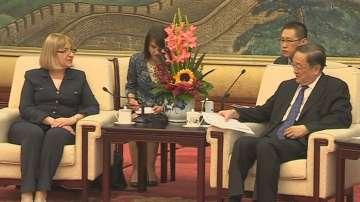 Българската парламентарна делегация на посещение в Китай
