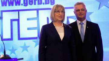 Цецка Цачева и Пламен Манушев са кандидат-президентската двойка на ГЕРБ