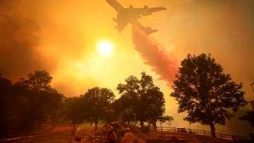 Запалила се автомобилна гума е причинила големия пожар в Калифорния