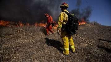 Спасиха библиотеката Роналд Рейгън от пожарите в Калифорния