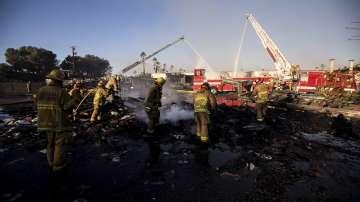 Семейство се спаси в последния момент от пожарите в Калифорния