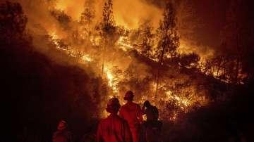 Горските пожари в Калфорния се разрастват