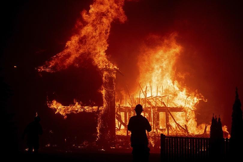 Сред най-засегнатите е окръг Вентура, северно от Лос Анджелис. ©