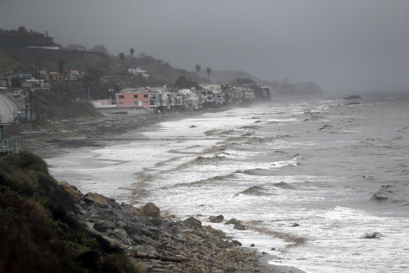 Бурята, която вилня в Калифорния в продължение на три дни,
