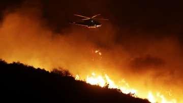 Над 200 000 души са евакуирани в Калифорния заради големите горски пожари