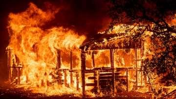 Горските пожари в Калифорния взеха първата си жертва