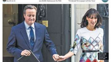 Британската преса е разделена като самата страна след Брекзита