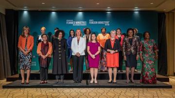 Среща на жените външни министри в Монреал