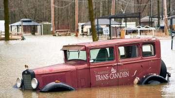 Тежки наводнения засегнаха източната част на Канада