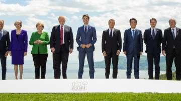 Разделение в първия ден от срещата на Г-7 в Канада