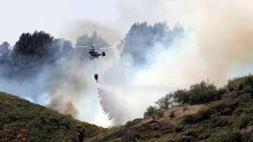 Увеличава се площта на горските пожари на Канарските острови