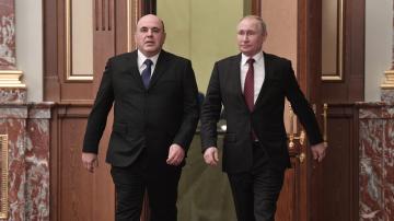 Владимир Путин назначи новото правителство на Русия