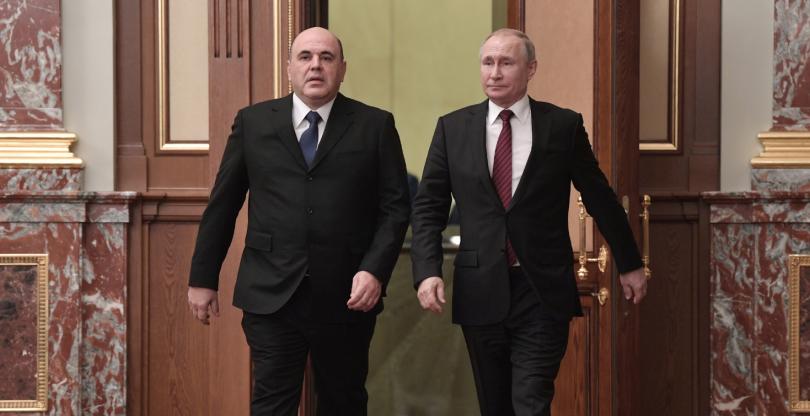 Руският президент Владимир Путин назначи новото правителство, начело с премиера