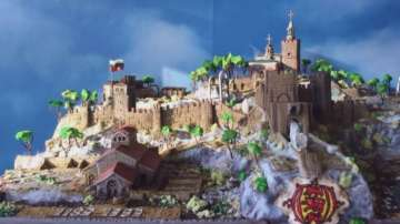 Българин в Англия направи захарен Царевец