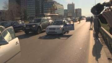 Верижна катастрофа предизвика километрично задръстване на Цариградско шосе