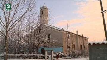 160-годишната църква в пловдивското село Черноземен продължава да се руши