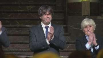 Отстранените каталунски министри пред върховния съд на Испания