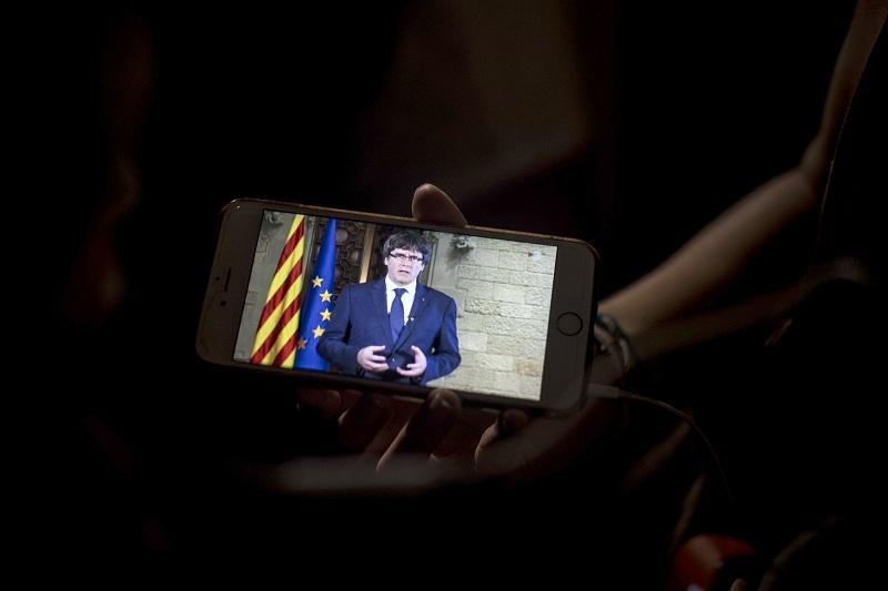 снимка 1 Каталунската криза изглежда се заплита още повече