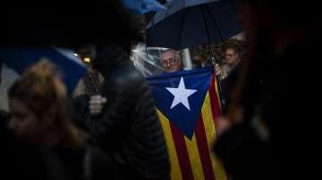 В Каталуния протестираха срещу намерението на Испания да отнеме автономията