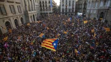 Хронология на събитията в Каталуния