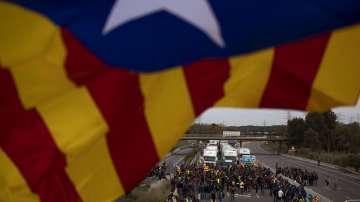 Хиляди демонстрират в подкрепа на независимостта на Каталуния