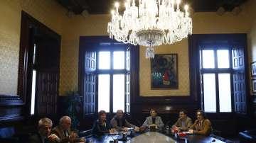 Започна първото заседание на новия Каталунски парламент
