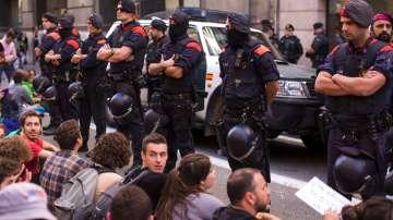 Напрежение заради предстоящия референдум за независимостта на Каталуния