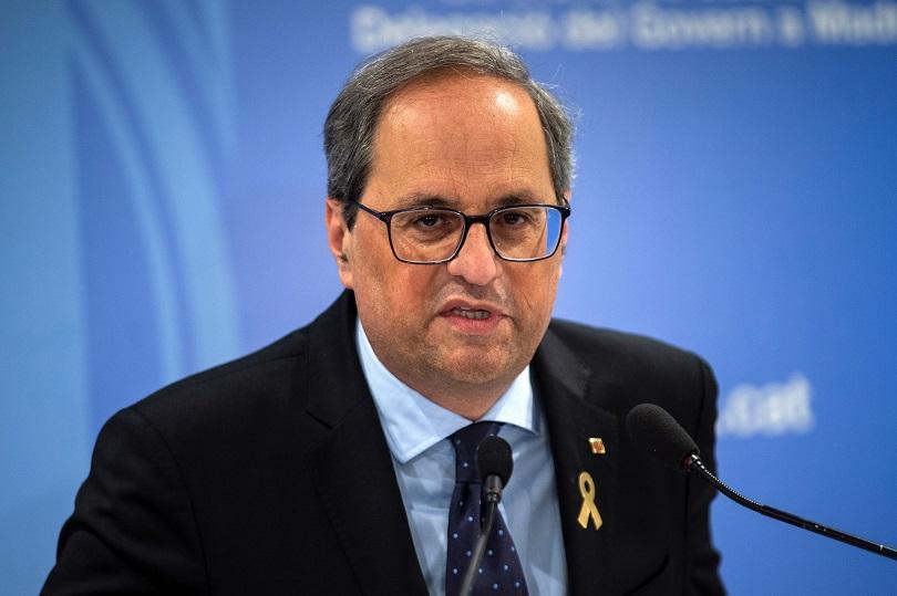 каталунският президент отива съд неподчинение