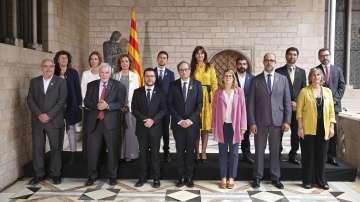 Новото каталунско правителство положи клетва