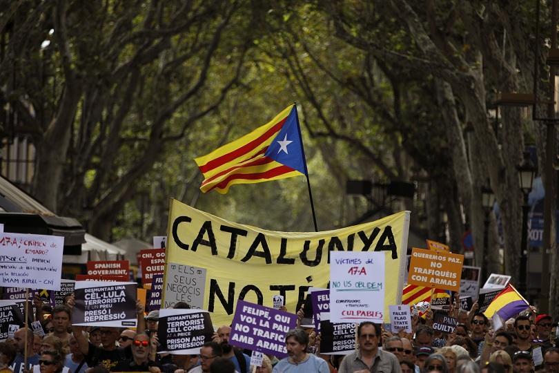 каталунският лидер обеща атакува испанската държава