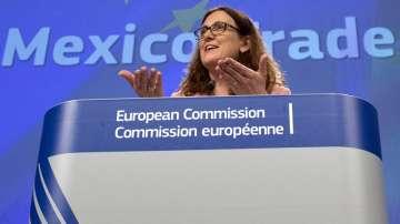 Еврокомисарят по търговията заплаши САЩ с тройна реакция, ако въведат мита от ЕС