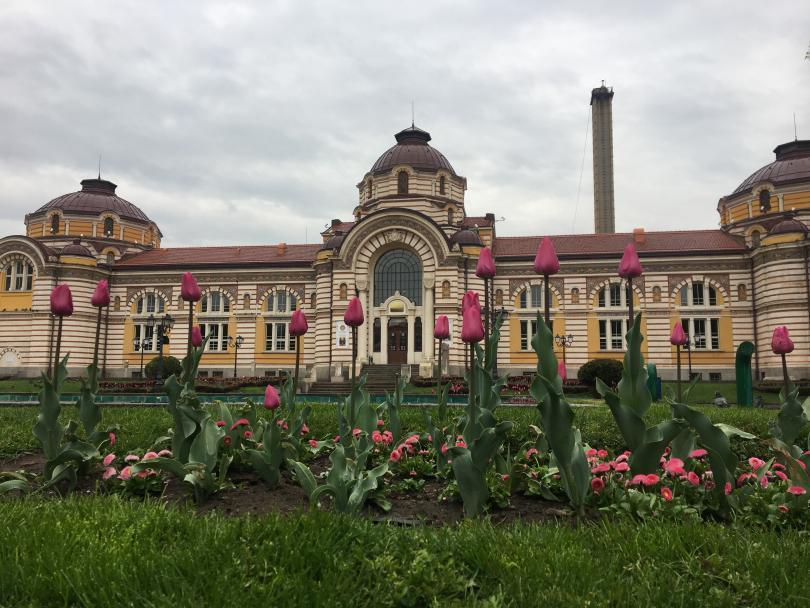 Фонтанът пред Регионалния исторически музей София не работи от няколко