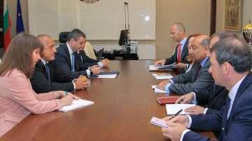 Премиерът Борисов се срещна с председателя на ЕБВР
