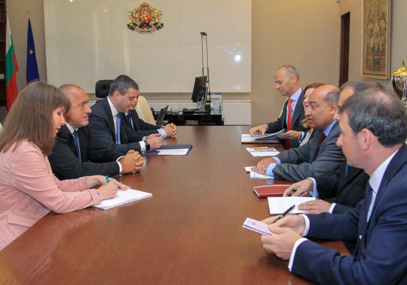 Премиерът Бойко Борисов се срещна с председателя на Европейската банка