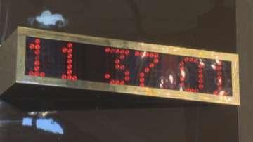 В НДК отмерват времето с швейцарска точност