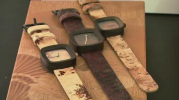 В Индонезия продават първите екологични часовници от гъби