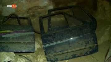 Частен случай: Пещери в Русенско са превърнати в автоморги, обори и сметища