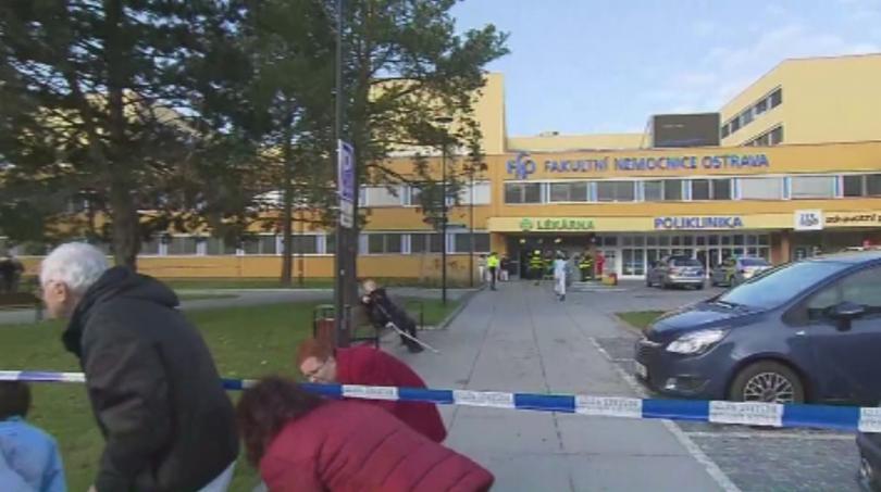 Шестима убити при стрелба в болница в чешкия град Острава.