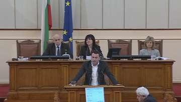 БСП отново настоя за отстраняване на Делян Добрев от пленарната зала