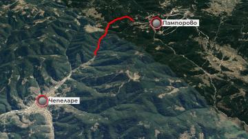 След 5-часова блокада в снега: Закъсалите с автобус пътници са извозени в Смолян