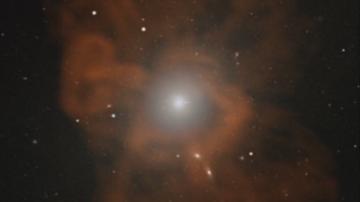 За първи път в историята: Учени заснеха черна дупка