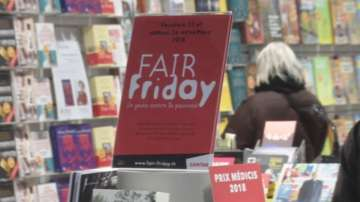 Швейцарска верига книжарници направи справедлив петък
